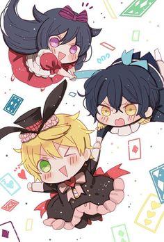 pandora hearts Manga Anime, Anime Chibi, Pandora Jewelry, Pandora Charms, Pandora Hearts Oz, Fanart, 7 Sins, Character Sketches, Anime Stickers