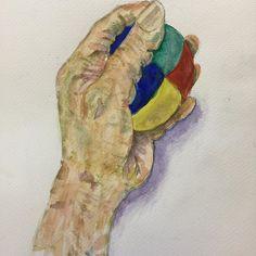 Practicing water colour اب رنگ Watercolor #watercolor #watercolorpainting #handsketch #sketch #art #drawing#ابرنگ #تمرین #ایران