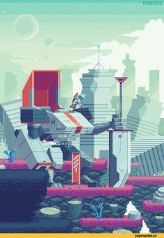 Pixel Art,Пиксель Арт, Пиксель-Арт,Pixel Gif,kirokaze,длиннопост