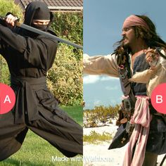 Would you rather be a ninja or pirate? Click here to vote @ http://getwishboneapp.com/share/781507