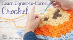 Corner-to-Corner Crochet Class - Repeat Crafter Me
