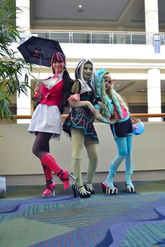 Monster High: BestGhoulfriends by ~ChamomileCatastrophe on deviantART Monster High Cosplay
