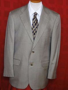 Brooks Brothers 346 Multi-color Glen Plaid Silk Blend Sport Coat Size 40R #BrooksBrothers #TwoButton