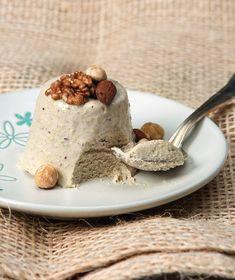 Μπαβαρουάζ µε ξηρούς καρπούς Custard, Mousse, Smoothies, Panna Cotta, Sweet Tooth, Ice Cream, Keto, Pudding, Sweets