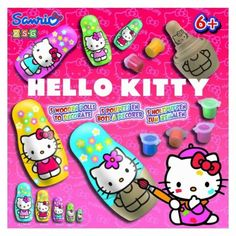 Ksg hello kitty 5 #wooden #dolls to #decorate,  View more on the LINK: http://www.zeppy.io/product/gb/2/231178815250/