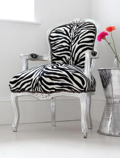 zebra accents are a staple