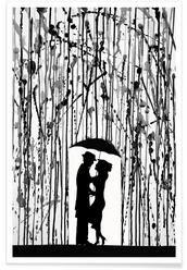 Poster / Kunstdrucke Schwarz Weiß