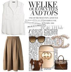 En el look del día falda midi, la altura perfecta para un look perfecto. 1.- Perfume Guilty- Gucci http://fashion.linio.com.mx/a/guiltygucci