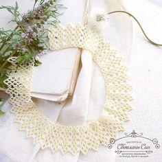 Колье-воротничок из чешского бисера) 1000₽  забронирован #мастерская_син #sinbead #sinbeadjewelry #jewelry #necklace #bead #beads #boho #beadwork #beadedjewelry #lace #украшения #колье #воротничок #бохо #кружево