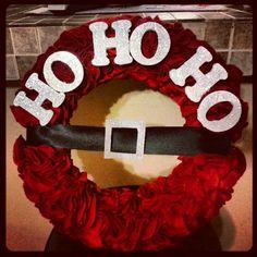 My Christmas diy wreath