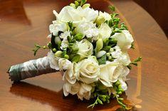 Die Rose als Brautstrauß