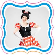 Throw a Mickey or Minnie mouse party for your little ones birthday. Entertainers available in Perth, Sydney, Melbourne, Brisbane and Adelaide