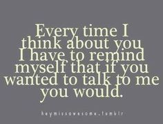 Every Time I Think About You. So true....