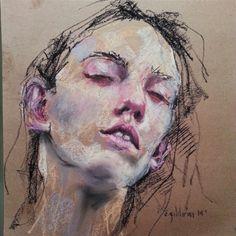 #sanat #art #artist #softpastel #mywork #work #arte #dessin #draw #drawing #paint #painting #portrait #creative #senayildirim