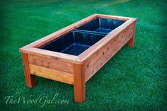 build planter box with mitered corners - Google Search