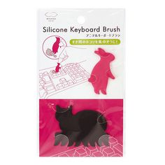 Critter Keyboard Brushes Bunny + Cat from Marna - 3