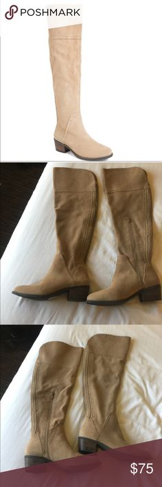 NWOT Vince Camuto Bendra Over The Knee Boots NWOT Vince Camuto Bendra Over The Knee Boots. Size 7. Color is as shown in first photo. Vince Camuto Shoes Over the Knee Boots