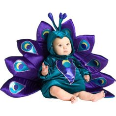 Baby Peacock Costume - Party City