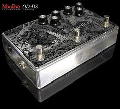 Moollon Custom Shop Effects OD/DS Overdrive Distortion Unique Design Pedal #Moollon