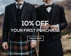 Traditional kilt outfits for the modern man. Designed in and inspired by Scotland. Le Kilt, Kilts, Modern Man, Custom Items, Tartan, Scotland, Ireland, Men's Fashion, Yard