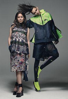NIKE x sacaiのコレクション発表 - 2015年3月下旬に展開 | ニュース - ファッションプレス