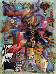 View Ventilator by Markus Oehlen on artnet. Browse upcoming and past auction lots by Markus Oehlen. Collage Art, Collages, Arte Sketchbook, Doja Cat, Retro Futurism, Pics Art, Psychedelic Art, Surreal Art, Pretty Art
