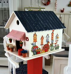 Bird houses bird house
