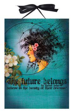 $18  PAPAYA! Art Future Beauty Art Panel Print - Decor - Shop
