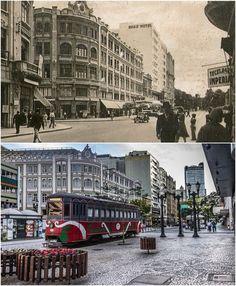 Antes e depois: veja a transformação de 17 lugares ao longo dos anos