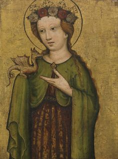 Saint Margaret by unknown artist (ca. 1450)