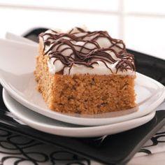 Yummy S'more Snack Cake Recipe