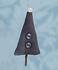 Askartele kankainen joulukuusi - Kodin Kuvalehti Scandi Style, Xmas, Christmas, Drop Earrings, Modern, Crafts, Trendy Tree, Manualidades, Navidad