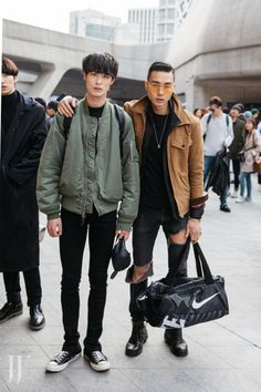 Photo http://www.qunel.com/ fashion street style beauty makeup hair men style womenswear shoes jacket