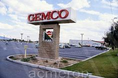 GEMCO Department Stores, you had to have a membership to card to get in and make a purchase! I remember we bought our 1st VHS player (Zenith) in the 80's