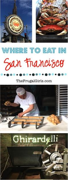 Where To Eat In San Francisco, California!  Insider tips for the best eats on your next trip to San Fancisco! ~ at TheFrugalGirls.com