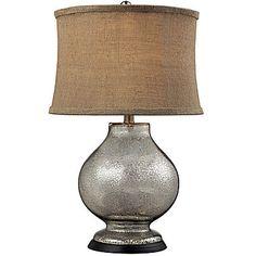 Jcp j hunt home trophey table lamp floor lamps pinterest jcp stonebrook antique mercury glass table lamp aloadofball Images