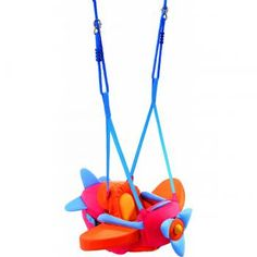 MBeans.com - Haba Aircraft Baby Swing
