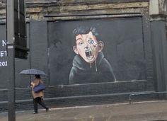 Shoreditch Street Art: Just Passing Through! - Rachel's Ruminations