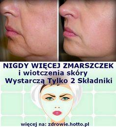 Tylko 2 składniki. Maska odmładzająca na zmarszczki i wiotczejącą skórę-DIY