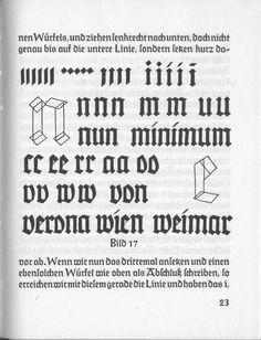Bild 17. Rudolf Koch. From Das Schreibbüchlein (1930) | Paul Shaw Letter Design