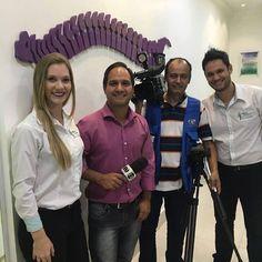 Hoje tivemos mais uma vez o enorme prazer de receber a equipe da Tv Anhanguera - Filiada a Rede Globo em nossa clínica. Não perca amanhã ao meio dia vai ao ar. Conheça mais sobre a quiropraxia em nosso site http://ift.tt/1f8M6Yv #quiropraxia #qualidadedevida #colunaemmovimento #quiropraxiaanapolis #quiropraxiagoiania #quiropraxiaemgoiania #tratamentodacoluna by colunaemmovimento http://ift.tt/1U8FxSw