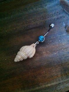 Shell Belly Button Ring