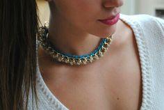 Χειροποίητα κολιέ www.etsy.com/shop/bizeli Handmade Art, Handmade Necklaces, Chain, Shop, Color, Etsy, Jewelry, Fashion, Moda