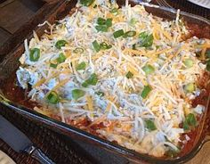 My go-to Super Bowl dip - healthy and delicious! (Ellie Krieger's Five-Layer Dip)