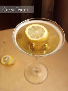 """Green Tea-ni,"" Made Using Smirnoff Honey Vodka"