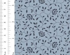 Ginger Lily Studio Sanctuary: AS0085 cw 03 Stippling, Basket Weaving, Cotton Fabric, Delicate, Lily, Studio, Floral, Pattern, Collection