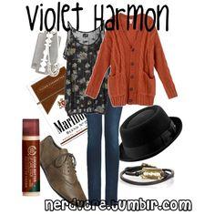 """Violet Harmon"" by lizamazoo on Polyvore"