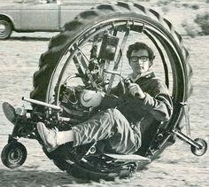 Monowheel - with training wheels!