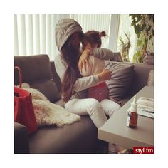 Misz-masz We Heart It ❤ liked on Polyvore featuring instagram, babies, family, baby girl and kids