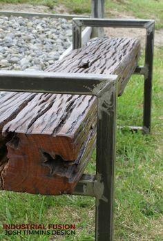 Ironwood Bench Seat